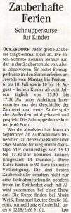 Generalanzeiger Bonn vom 25. Juni 2009